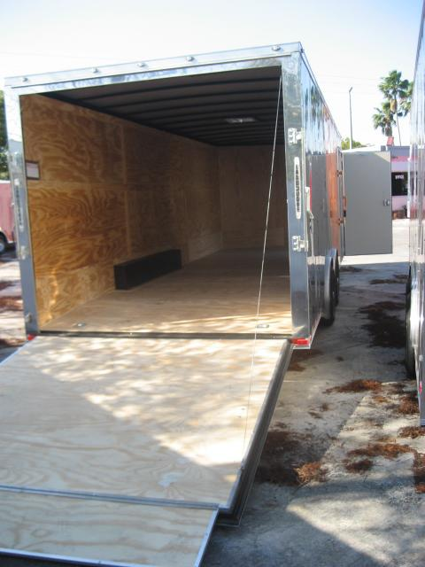 *E12E* 8.5x24 Enclosed Trailer HAULERS Cargo Car Hauler 8.5 x 24 | EV8.5-24T5TS-R