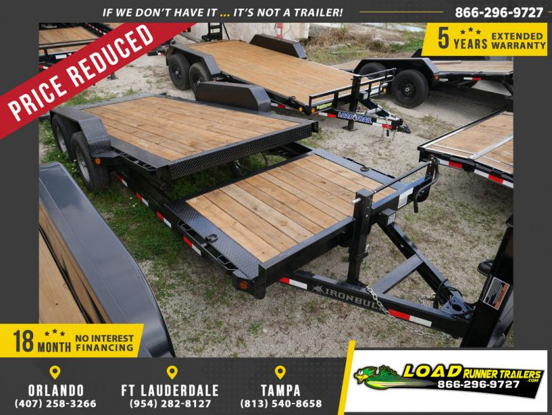 *104669* 7x16 7 TON Tilt Equipment Hauler Trailer | Heavy Duty 7 x 16