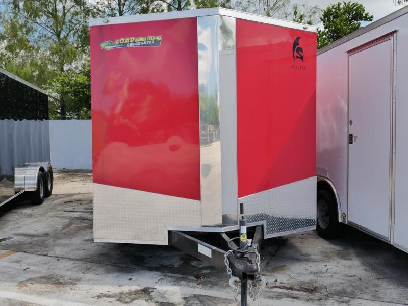 *106237* 8.5x16 Enclosed Cargo Trailer | Car Hauler Trailers 8.5 x 16 | EV8.5-16T5T-R