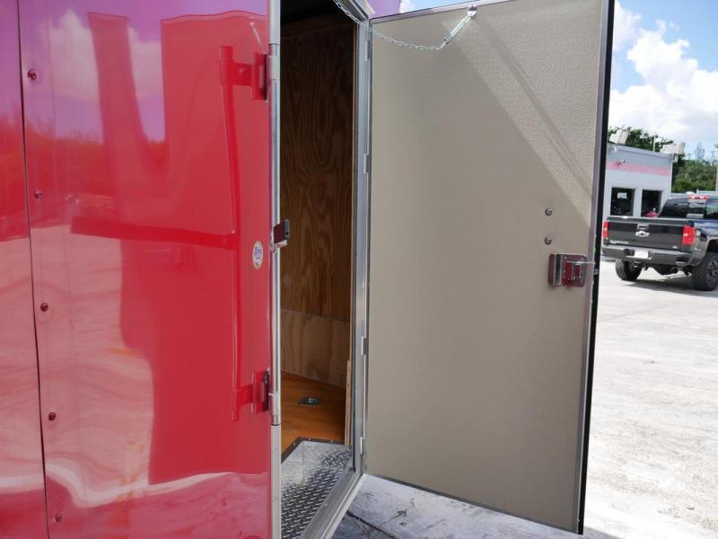 *106237* 8.5x16 Enclosed Cargo Trailer   Car Hauler Trailers 8.5 x 16