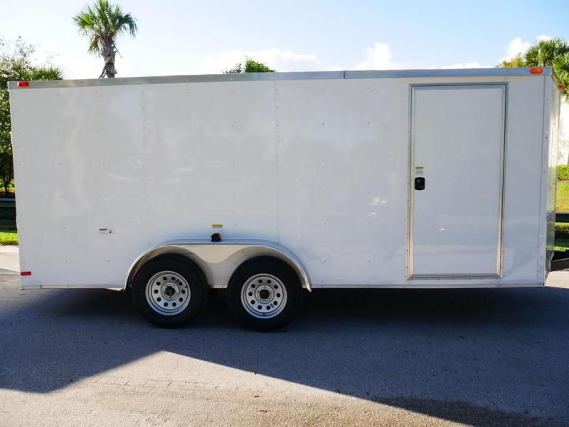 *107878* 7x16 Tandem Axle Enclosed Cargo Trailer | LRT Trailers 7 x 16