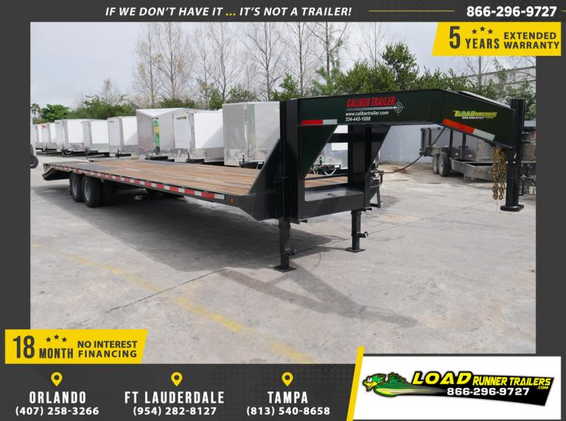 *106357* 8.5x36 Gooseneck Flatbed Deck Over Trailer |LRT Haulers & Trailers 8.5 x 36