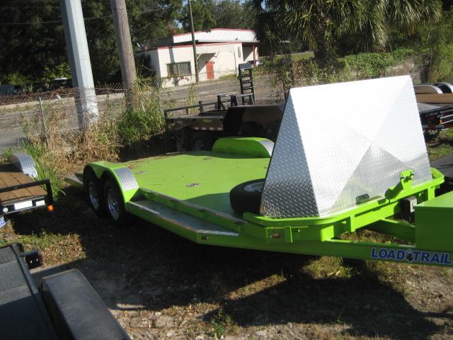 *101929* 7x20 Sport Car Hauler Trailer W/mag Wheels & Fairing 7 x 20
