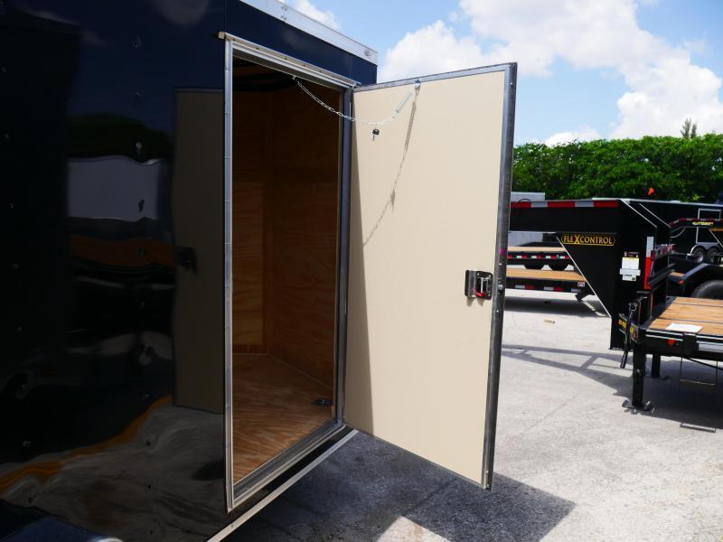 *E6* 7x12 Single Axle Enclosed Cargo Trailer 7 x 12 | EV7-12S3-R