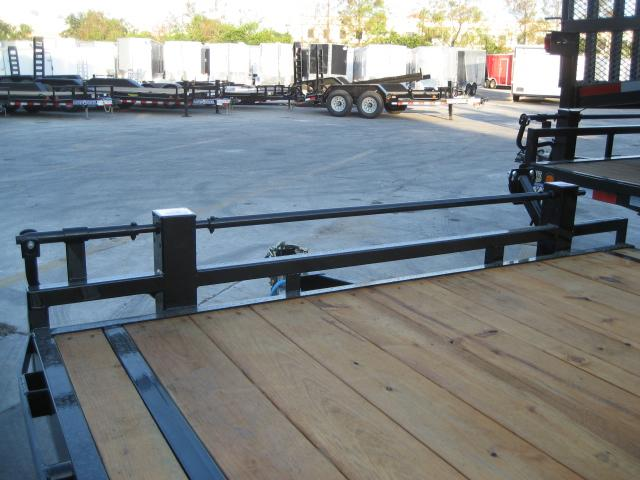 *EQ32* 8.5x24 7 TON Equipment & Car Hauler Trailer |LR Trailers 8.5 x 24 | EQ102-24T7-DOF/KR