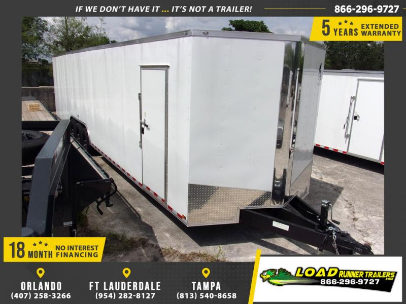 *108451* 8.5x36 Enclosed Cargo Trailer |LRT Tandem Axle Trailers 8.5 x 36