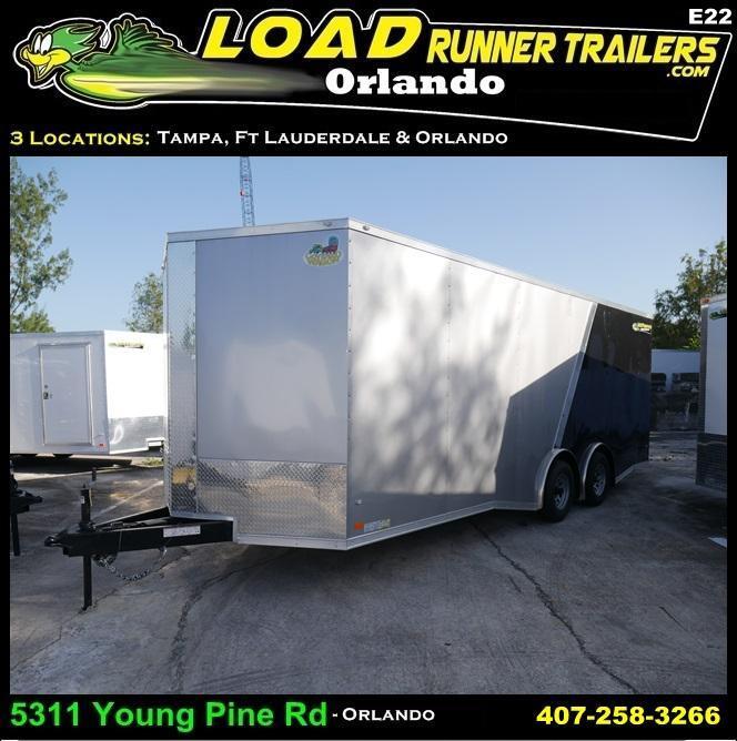 *E22* 8.5x22 Enclosed Trailer | 10K | Car Cargo Hauler Trailers 8.5 x 22 | EV8.5-22T5TS-R
