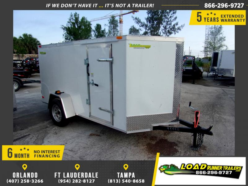 *109576* 5x10 Enclosed Cargo Trailer |LRT Haulers & Trailers 5 x 10