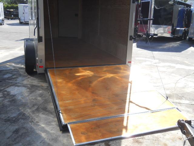 *E8B* 7x14 Enclosed Cargo Trailer Cargo Trailers Haulers 7 x 14 | EV7-14T3-R