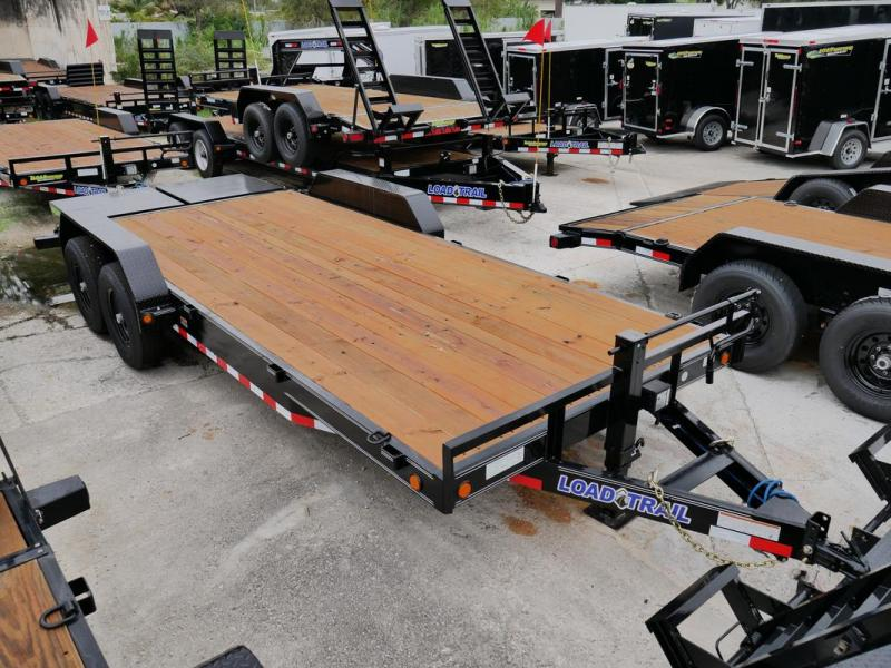 *107359* 7x20 Equipment Trailer |LRT Tandem Axle Trailers 7 x 20 | EQ83-20T7-MPD
