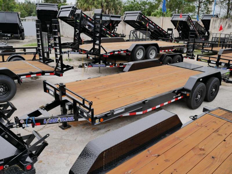 *107359* 7x20 Equipment Trailer  LRT Tandem Axle Trailers 7 x 20   EQ83-20T7-MPD