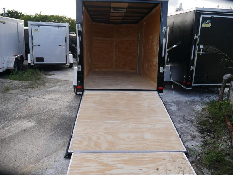*107915* 6x12 Enclosed Cargo Trailer  LRT Haulers & Trailers 6 x 12