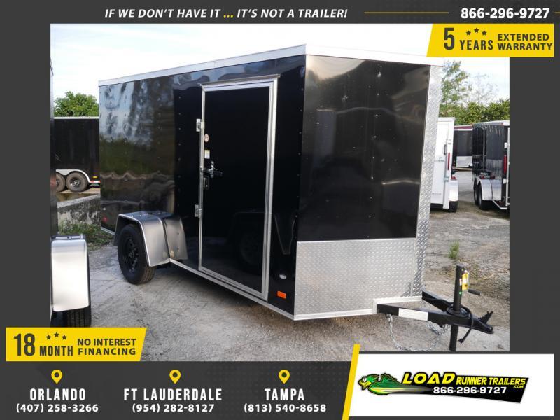 *107915* 6x12 Enclosed Cargo Trailer |LRT Haulers & Trailers 6 x 12