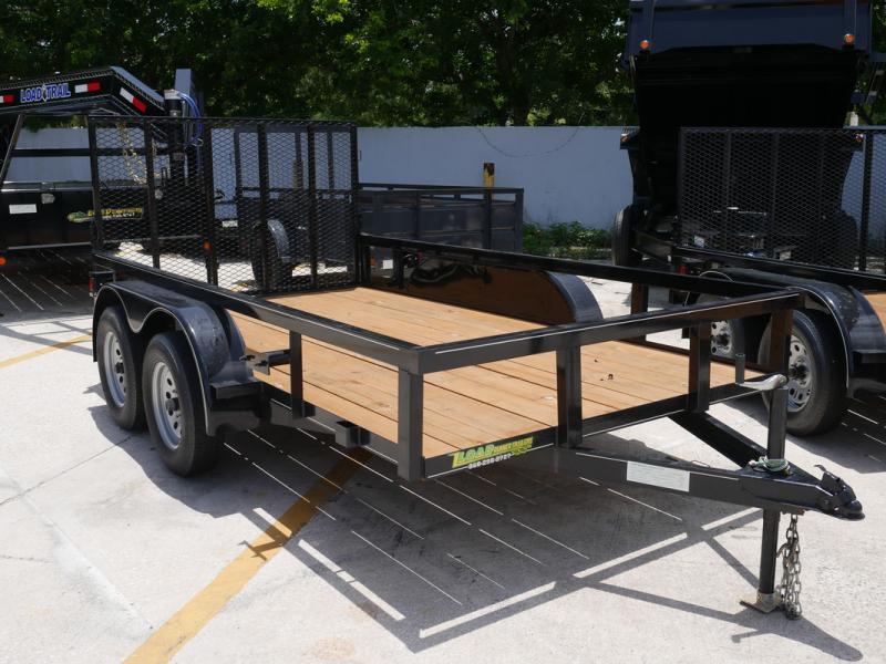 *U46* 6x12 Utility Trailer Tandem 3500 lb Axles 6 x 12   U76-12T3-0B-TR