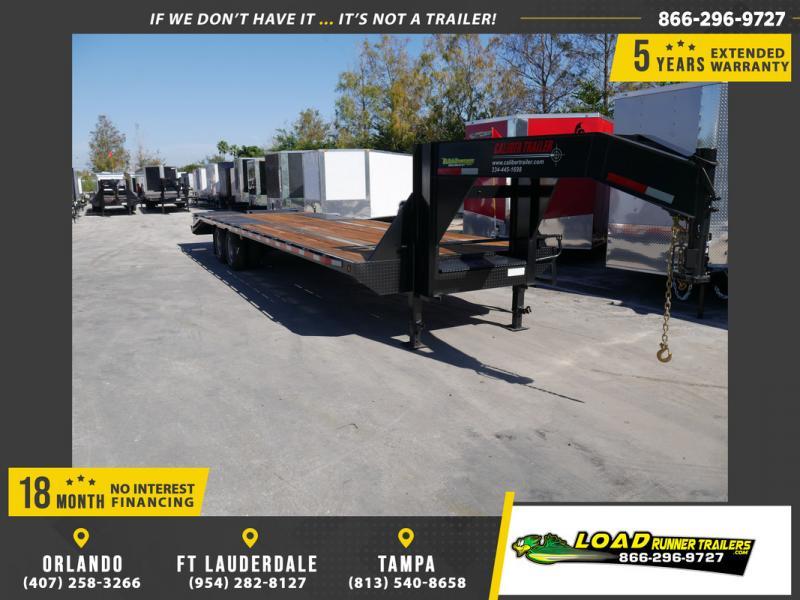 *106828* 8.5x32 Gooseneck Flatbed Deck Over Trailer |LRT Trailers 8.5 x 32