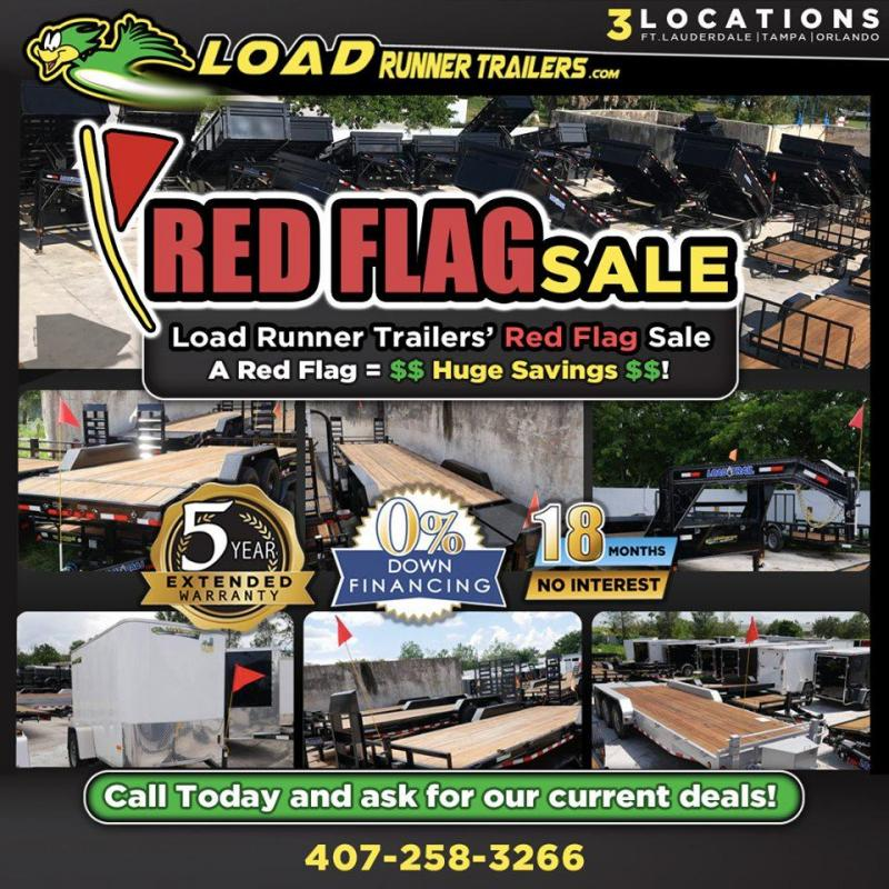 *RFS1* 7x24 700+ IN STOCK | 100+ SALE PRICED DUMP CARGO CAR TRAILER 7 x 24 | DUMP ENCLOSED CARGO