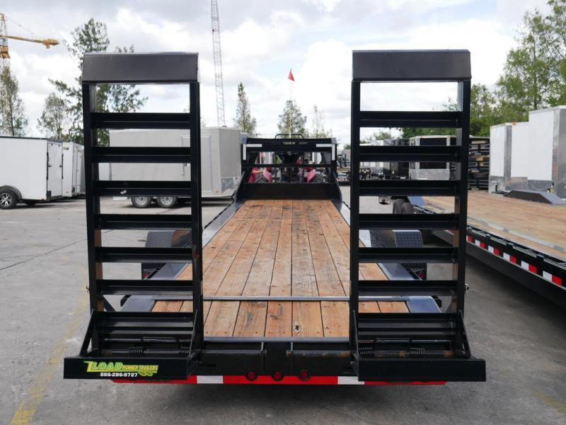 *104884* 7x26 Gooseneck Equipment Trailer |LRT Haulers & Trailers 7 x 26