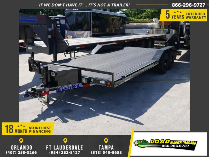 *108107* 8.5x20 Load Trail Car Trailer w/Blackwood Deck |LRT Trailers & Haulers 8.5 x 20