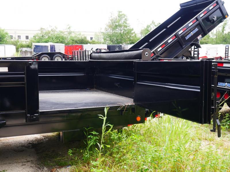 *DB26* 7x16 7 Ton Dump Trailer  Load Trail Dumps & Trailers 7 x 16   D83-16T7-24S