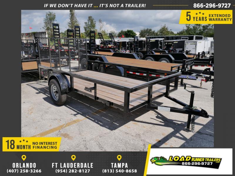 *107450* 6x12 Utility|Lawn|ATV|Multipurpose Trailer |LRT Haulers & Trailers 6 x 12