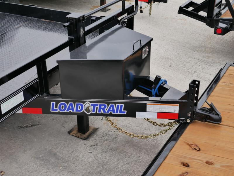 *107781* 7x14 Bobcat Hauler Trailer |LRT Tandem Axle Trailers 7 x 14
