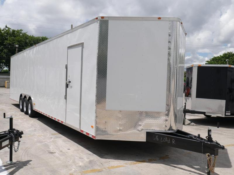 *EV36* 8.5x36 Enclosed Gooseneck Cargo Trailer |21K Car Trailers 8.5 x 36 | EV8.5-36TT5-R