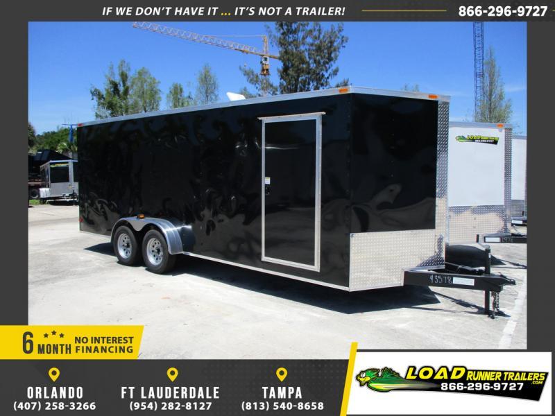 *109131* 7x20 Enclosed Cargo Trailer |LRT Tandem Axle Trailers 7 x 20