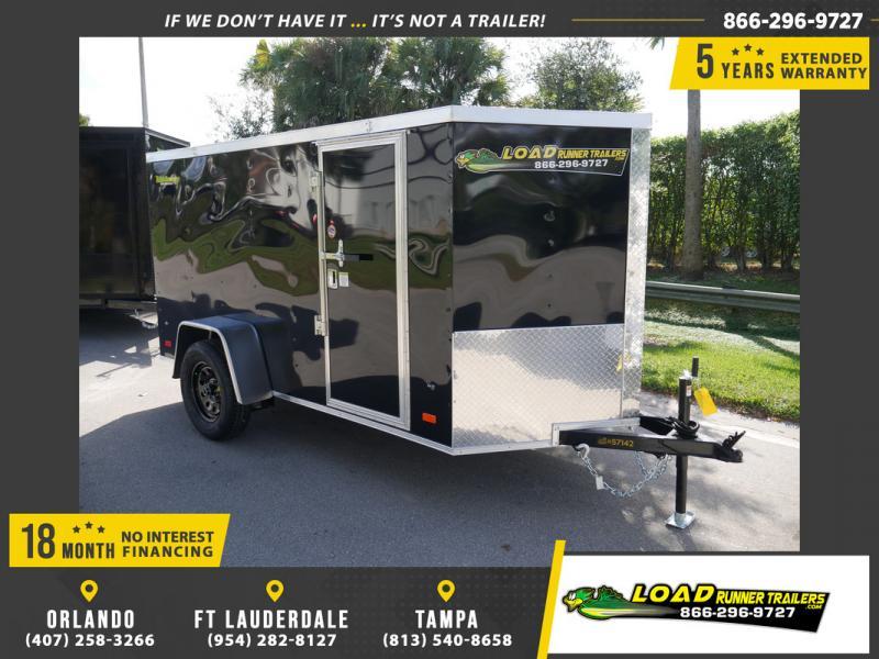 *108311* 5x10 Enclosed Cargo Trailer |LRT Haulers & Trailers 5 x 10