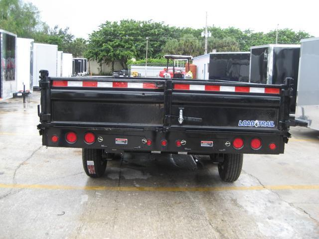 *DB34* 8x16 10 TON Triple Axle 21K Dump Trailer Trailers Fold Down Sides 8 x 16   D96-16TT7-18S