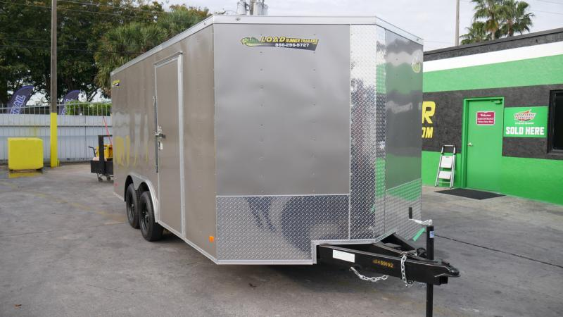 *108914* 8.5x16 Enclosed Cargo Trailer |LRT Tandem Axle Trailers 8.5 x 16