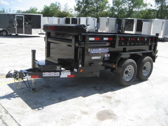 *DB12* 5x10 5k Load Trail Dump Trailer Tandem Axle Trailers 5 x 10 | D60-10T5-24S