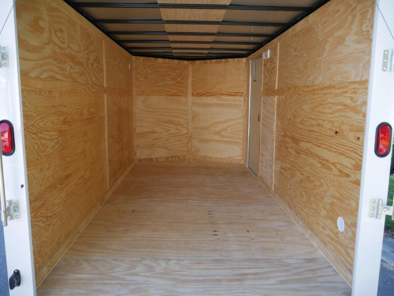 *E9F* 7x16 Enclosed Cargo Trailer Tandem Axle Hauler 7 x 16 | EV7-16T3-R
