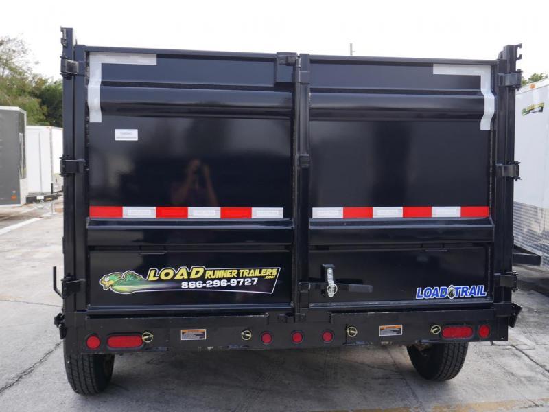 *108340* 7x14 LOAD TRAIL Dump Trailer   Tandem Axle Trailers 7 x 14