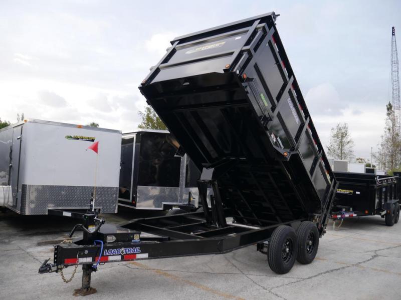 *108340* 7x14 LOAD TRAIL Dump Trailer | Tandem Axle Trailers 7 x 14