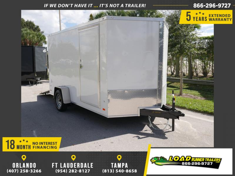 *108399* 7x12 Enclosed Cargo Trailer |LRT Haulers & Trailers 7 x 12