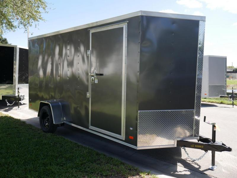 *108078* 6x14 Enclosed Cargo Trailer |LRT Haulers & Trailers 6 x 14