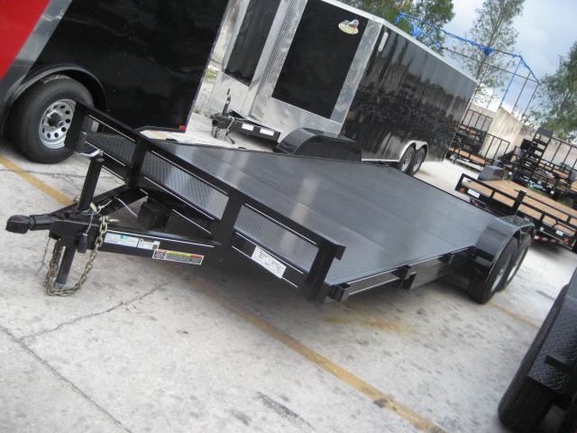 *CH19* 7x20 5 TON Steel Deck Car Hauler Trailer LR Trailers 7 x 20   CH82-20T5-1B-SD