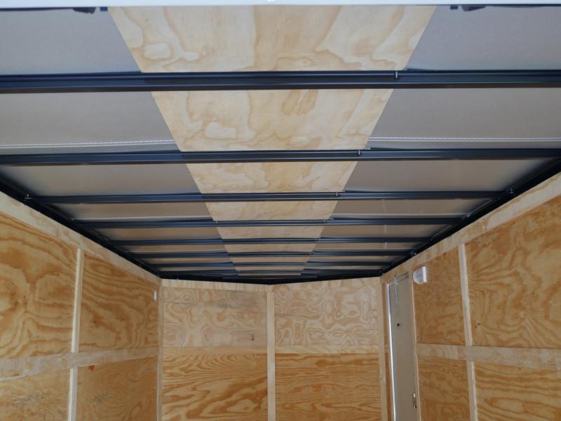 *E9D* 7x16 Enclosed Cargo Trailer Tandem Axle Hauler 7 x 16 | EV7-16T3-R