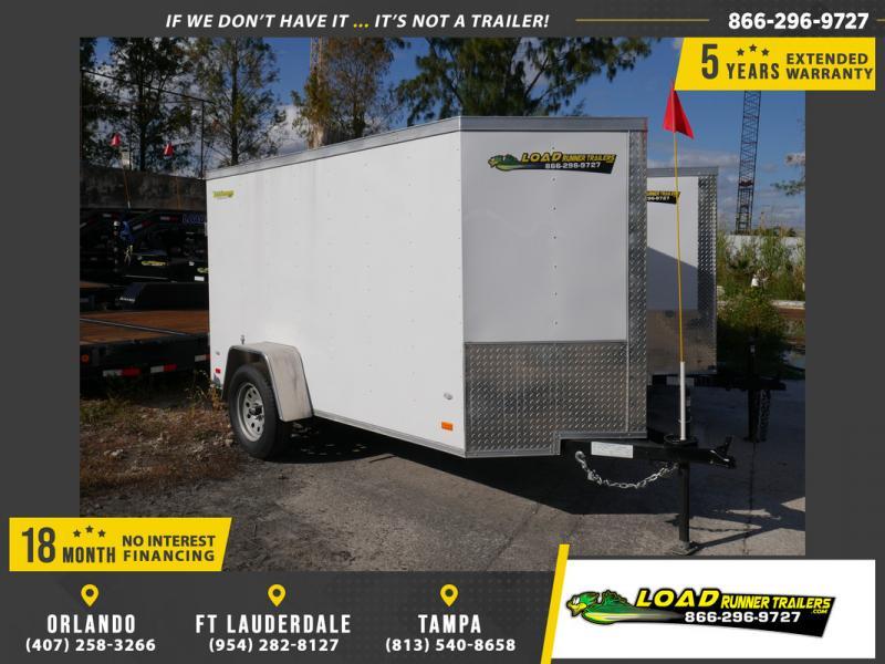 *106101* 5x10 Enclosed Cargo Trailer |LRT Haulers & Trailers 5 x 10