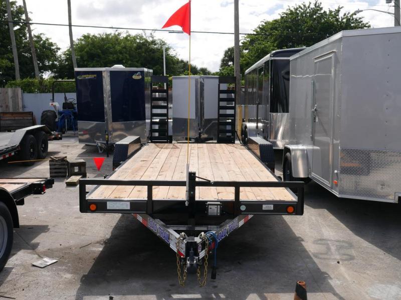 *104499* 7x20 PRICE REDUCED!| Equipment Trailer |LRT Tandem Axle Trailers 7 x 20 | EQ83-20T5-2B-KR