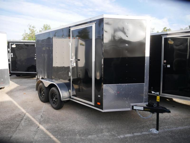 *107912* 6x12 Enclosed Cargo Trailer |LRT Tandem Axle Trailers 6 x 12