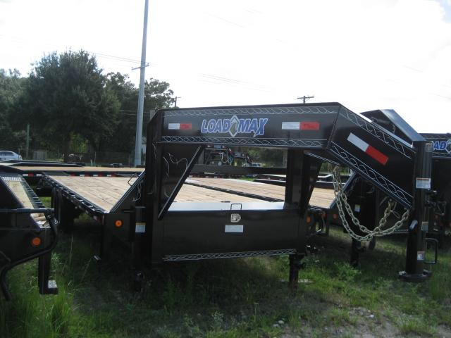 *FG43* 8.5x25  Flatbed Trailer w/ Ramps 7 TON Deck Over Trailers 8.5 x 25 | FG102-25T7-MPD