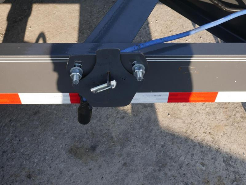 *CH43* 8.5x24 Drive Over Fenders Car Hauler Trailer 8.5 x 24 | CH102-24T7-DOF
