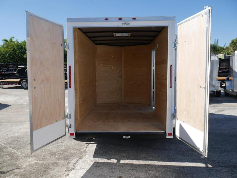 *E3D* 6x10 Enclosed Trailer | Cargo Trailers W/ Barn Doors #105805 6 x 10 | EV6-10S3-DD