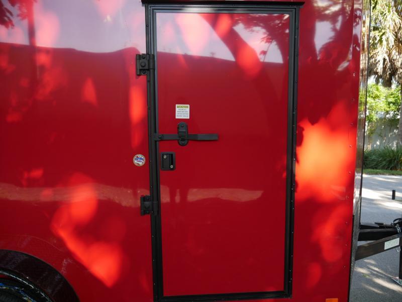 *E8G* 7x14 Door on Nose | 5 Yr Warranty Enclosed Cargo Trailer 7 x 14 | EV7-14T3-R