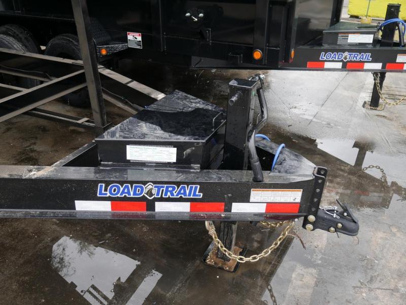 "*108030* 7x14 Dump Trailer w/48"" Sides  LRT Tandem Axle Trailers   4' 7 x 14"