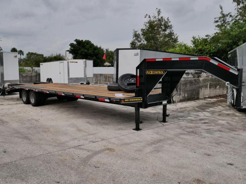 *106407* 8.5x32 Gooseneck Flatbed Deck Over Trailer |LRT Haulers & Trailers 8.5 x 32 | FG102-32T10-LP/FF
