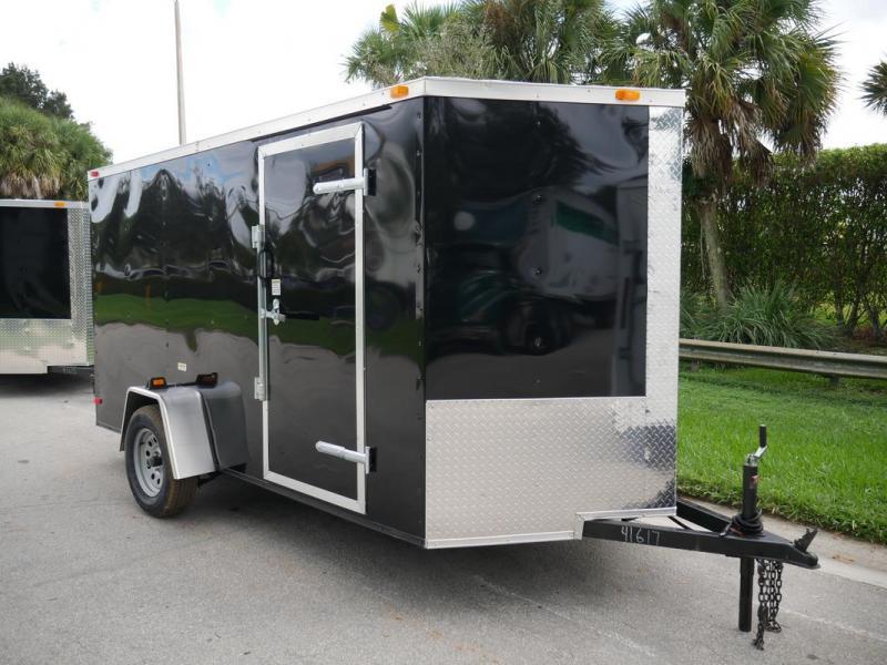 *108043* 6x12 Economy Enclosed Cargo Trailer |Cheap Haulers & Trailers 6 x 12 | EV6-12S3-R