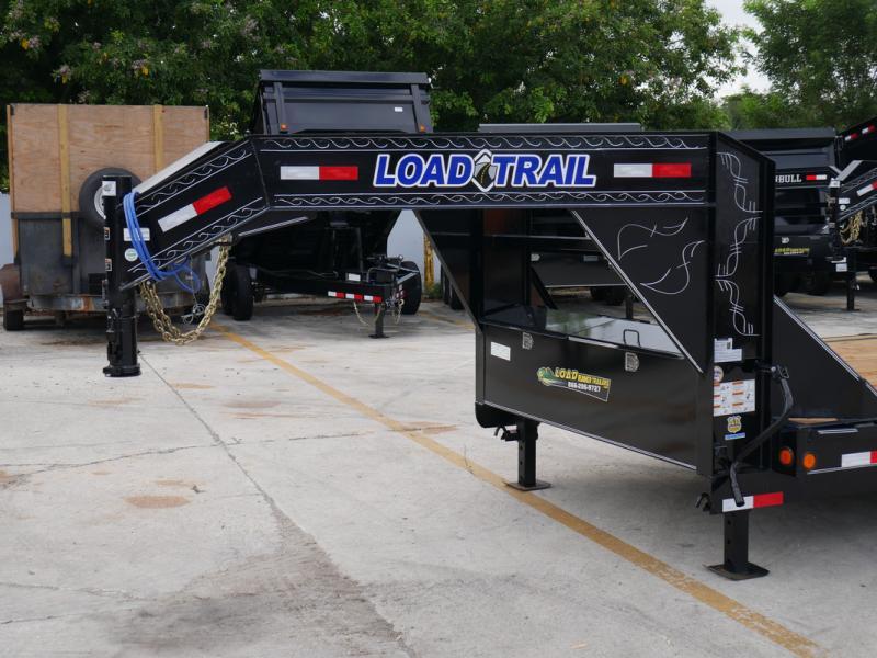 *107253* 8.5x32 Load Trail Gooseneck Car Hauler Trailer |Tandem Axle Trailers 8.5 x 32