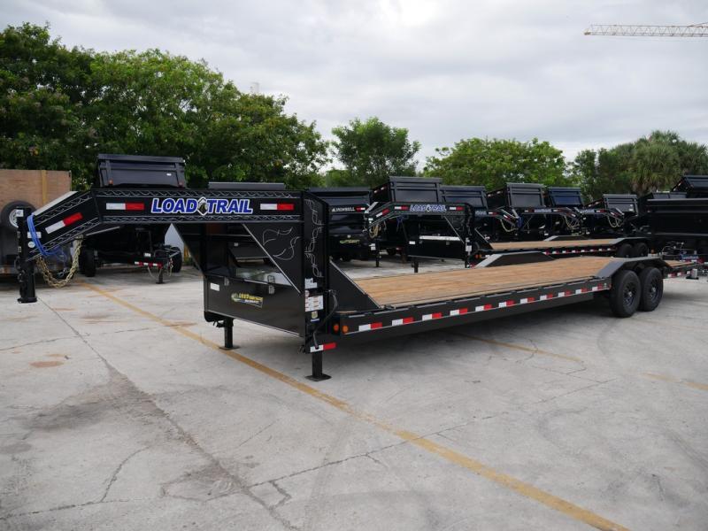 *107253* 8.5x32 Load Trail Gooseneck Car Hauler Trailer  Tandem Axle Trailers 8.5 x 32